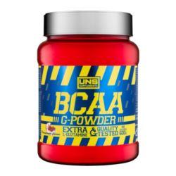 UNS BCAA G POWDER 600G POMARAŃCZA