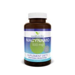 MEDVERITA NIACYNAMID 500MG 100 KAPS niacyna b3