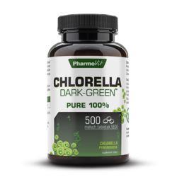 PHARMOVIT CHLORELLA DARK-GREEN 500 TAB